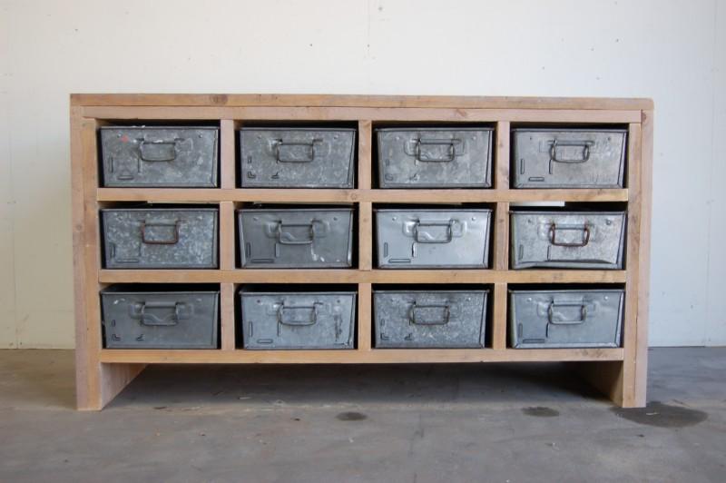 Bekend Fotoboek van op maat gemaakte houten/industriële meubels. #SA68