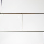Wandtegel 20×50 Yurtbay Wit Glans